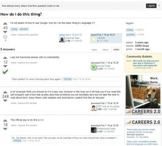 The Average Stack Overflow Question