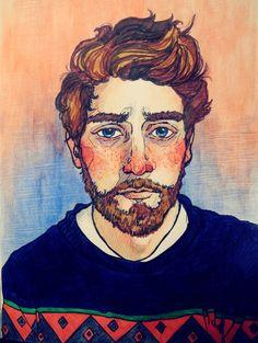 Art Sketches, Art Drawings, Gouache Color, A Level Art, Sketchbook Inspiration, Human Art, Art Inspo, Watercolor Art, Pop Art
