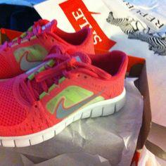 withy new Nike free run 3.0!!