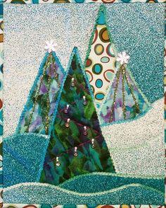 Rose Hughes - Quilt Artist: Quick X-mas Tree Tutorial