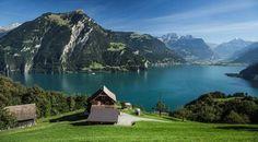 Os lagos mais bonitos da Europa Lago de Luzerna