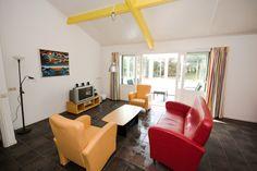 Bungalow 18 - Woonkamer - Klein Vaarwater Ameland #Ameland #vakantie #ontspannen #bungalow