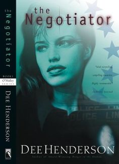 The Negotiator - Dee Henderson...a lot of her books have really weird covers but don't judge a book by its cover!