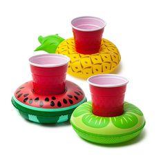 Bouées porte-boissons Fruits