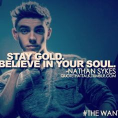 Nathan Sykes quote!! :)