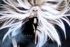 #Shillen #Goddess #Melenka #repaint #gulia #monster #High #elf #darkelf #custom #doll #ooak #lineage #la2 #monsterhigh