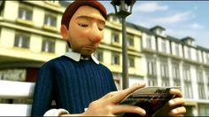 The Lonely Bachelor - Animated Short Film for teaching adjectives etc...