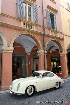 White Porsche 356 - my dream classic car Porsche 356 Speedster, Porsche 356a, Porsche Cars, Cool Sports Cars, Sport Cars, My Dream Car, Dream Cars, Porsche Replica, Classic Cars