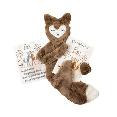 Slumberkins fox snuggler: The fox snuggler comes with a book and mantra card that is designed to provide them with the language and support they need to understand and accept big change within their family. Raising Daughters, Raising Boys, Toddler Gifts, Baby Gifts, New Sibling Gifts, Affirmation Cards, Plush Animals, Toddler Activities, Kids And Parenting
