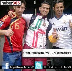 Ünlü Futbolcular ve Türk Benzerleri!