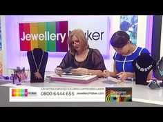 Learn How to Make Polymer Clay Jewellery - JewelleryMaker DI LIVE 27/04/15