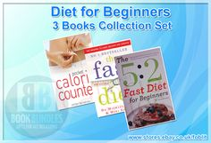 Diet for Beginners 3 Books Collection Set (The 5: 2 Fast Diet for Beginners). #DietRecipe‬ #DietBooks‬ #FastDiet‬