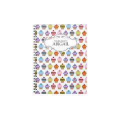 日記を付け始めるなら、こんなかわいいノートはいかが? #zazzle #ノート
