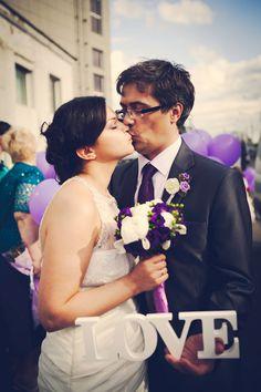 свадьба в фиолетовых тонах #purple #wedding #summer