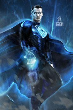 by Jessica Perez Superman Family, Superman Comic, Batman, Dc Comics Heroes, Dc Comics Characters, Comic Superheroes, Blue Lantern, Green Lanterns, Comic Books Art