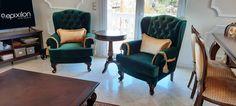 Νεοκλασικά έπιπλα Epixilon by Victor Taliadouros! Ευχαριστούμε για την εμπιστοσύνη σας! Γεωργίου Παπανδρέου 74,Καλαμαριά - Τηλ.:2310410835 epixilon.com #classic #furniture #luxury #homedesign #epixilon #VictorTaliadouros Accent Chairs, Furniture, Home Decor, Upholstered Chairs, Decoration Home, Room Decor, Home Furnishings, Home Interior Design, Home Decoration