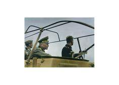 """""""Panzeradmiral"""":  General der Panzertruppe Heinz Wilhelm Guderian in seinem..."""