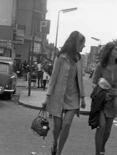 .Kings Road, photographed by John Hendy, 1968.