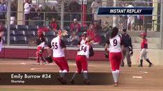 18 Gold Shortstop Drop Step Fly Ball Catch Vs Lil Saints. PGF Softball S...