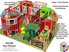 Commercial indoor Playground Equipment for Children Ministries | Jungle Gyms - Church-at-Rock-Creek - indoor playground for a children's ministry.  Designed, manufactured and installed by Internatinal Play Company - www.iplayco.com for more information. #weBUILDfun #Children'sMinistry #ChildrenMin
