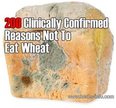 200 Clinically Confirmed Reasons Not To Eat Wheat:  http://www.herbs-info.com...