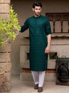Men Ethnic Wear India, India Fashion Men, Indian Men Fashion, Men's Fashion, Wedding Kurta For Men, Wedding Dresses Men Indian, Wedding Dress Men, Wedding Outfits For Men, Punjabi Kurta Pajama Men