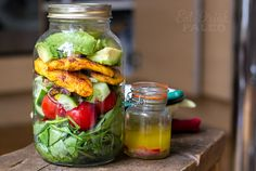 Grilled Moroccan chicken & avocado saladwith lime &chilli dressing