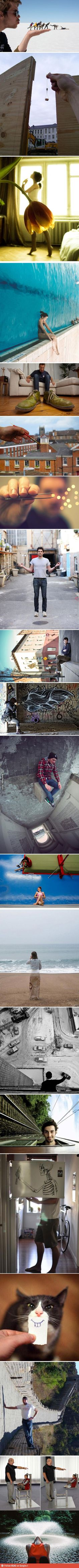 Awesome perspective photography