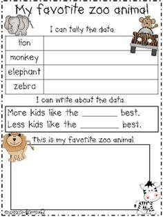 ZOO MINI UNIT - TeachersPayTeachers.com