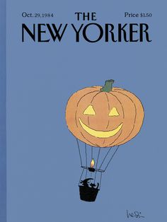 The New Yorker - Monday, October 29, 1984 - Issue # 3115 - Vol. 60 - N° 37 - Cover by : Arnie Levin