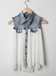 #vest #blouse