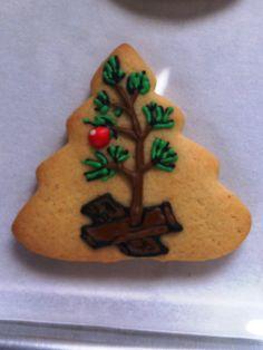 Cookies! - A Charlie Brown Christmas Tree.