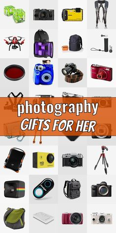 Are you searching for a present for a photograpy lover? Then you are right Checkout our ulimative list of gifts for phtographers. We show you cool gift ideas for photographers which will make them happy. Getting gifts for photographers does not need to be tough. And do not necessarily have to be costly. #photographygiftsforher