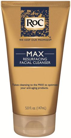 Giveaway!!! Enter to win RoC's new MAX Resurfacing Cleanser!