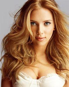 strawberry blonde hair - Scarlett Johansson - Matching Strawberry Blonde Hair Color with Your Natural Appearance: Strawberry Blonde Hair Color