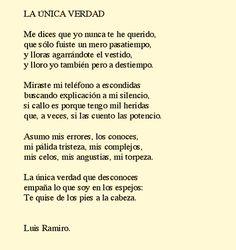 La única verdad que desconoces | Luis Ramiro