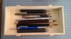 pencil box. JEP