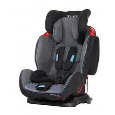 Accesorii bebelusi :: Scaune auto :: Scaune auto 9-36 kg :: Scaun auto SPORTIVO cu ISOFIX Gri Coletto