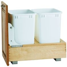 mounted and door mounted wood classic waste containers feature series slides all wood classic waste containers come