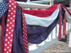Patriotic Decor patriotic front porch, 4th of july, memorial day
