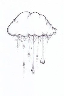 love this pencil drawing. looks like a doodle. love the hearts and bubbles