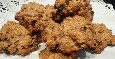Receta de galletas de cereales y pasas, buenísimas y muy fáciles de hacer.