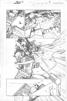 Huntress 1 pg4 by *0boywonder0 on deviantART