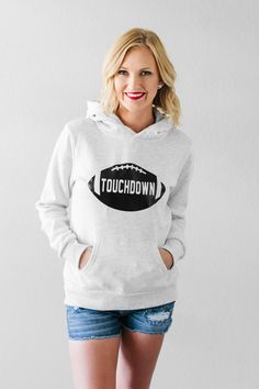 Make this sweatshirt to cheer on your favorite team! Ecu Game, Game Day Quotes, Game Day Snacks, Football Season, Hoodies, Sweatshirts, Your Favorite, Outfit Of The Day, Winter Outfits