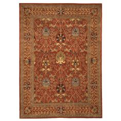 Found it at Wayfair - Lafayette Rust Area Rug