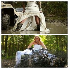 So u always here about these trash the dress photo shoot things..... Well I want to do this one!!
