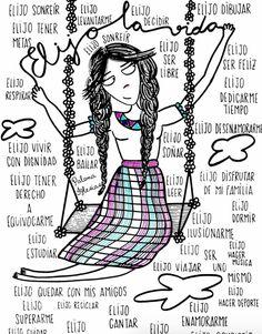 Ilustraciones de mujeres gordas, tontas, feas y al mismo tiempo felices | Cultura Colectiva - Cultura Colectiva