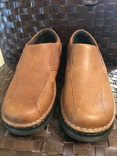 8d390a475fd2 Men s Size 9M Doc Dr. Martens TEVIN Slip On Loafer Casual Brown Leather  Shoe
