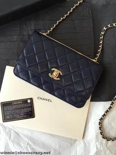 Chanel Lambskin Wallet On Chain With Gold Metal A80982 Online Email cacd6dc1238ed