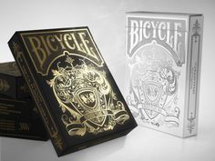 Bicycle Hundred Years' War Playing Cards on Packaging of the World - Creative Package Design Gallery